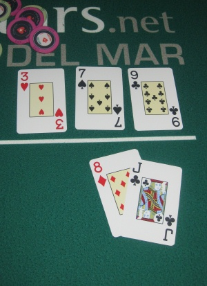 Belly Buster Poker Term What Is A Gutshot Straight Draw